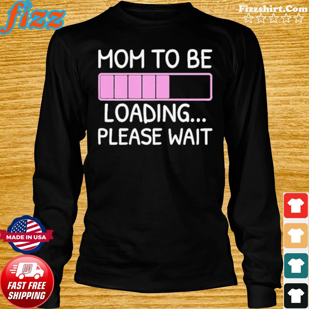 Mom To Be loading please wait s Long Sweater