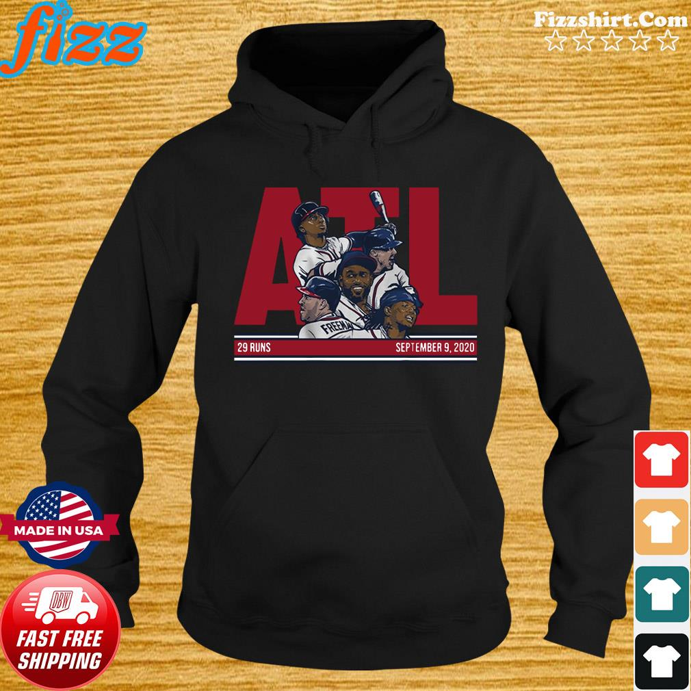 Official ATL 29 Atlanta Baseball Shirt Hoodie