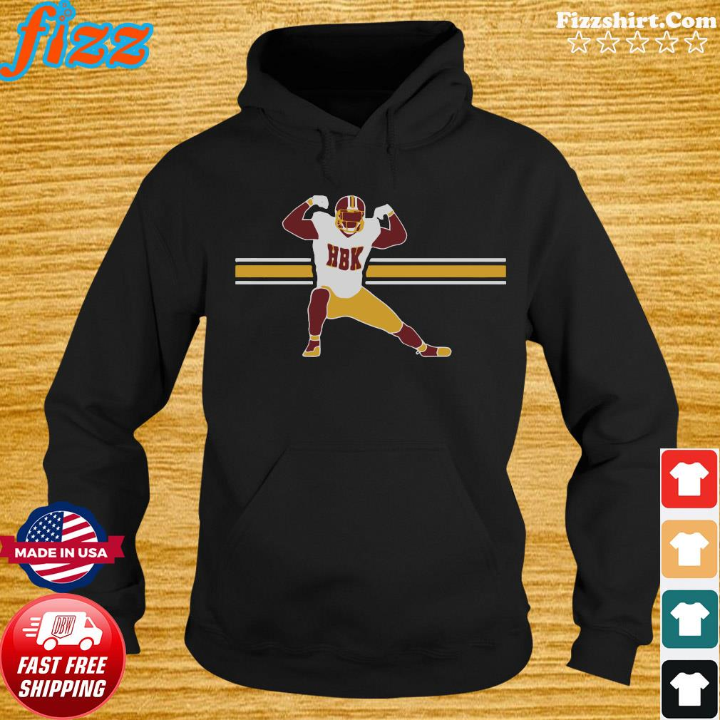 Official HBK – Washington Football Shirt Hoodie