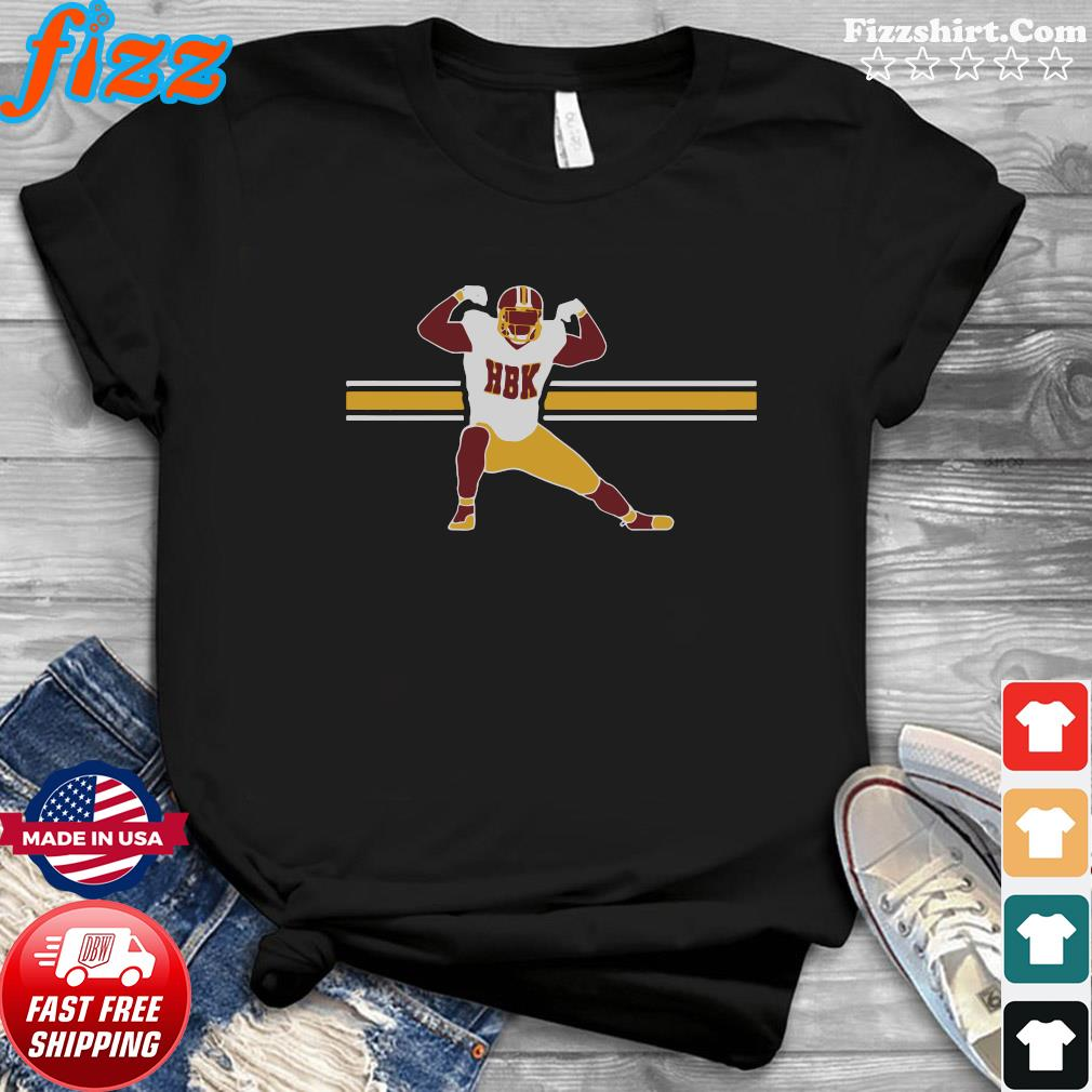 Official HBK – Washington Football Shirt