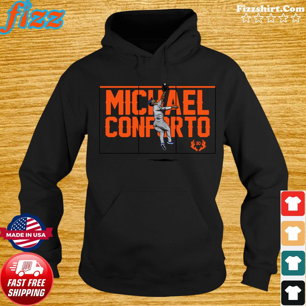 Official Michael Conforto Silky Elk New York Shirt Hoodie