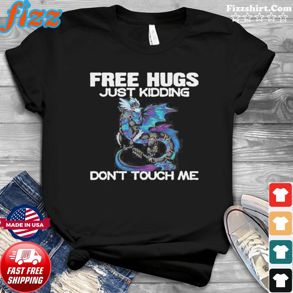 Toothless Face Mask Free Hugs Just Kidding Don't Touch Me shirt