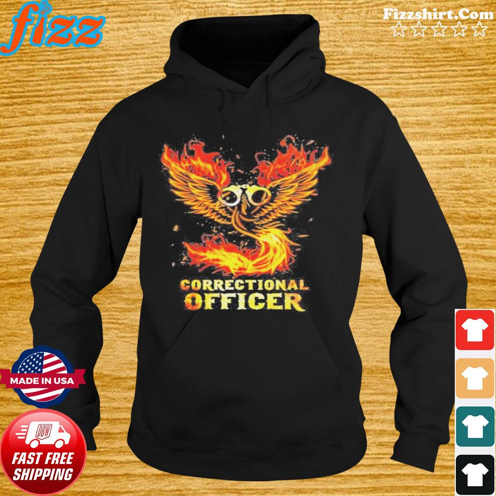 Wings fire correctional officer s Hoodie