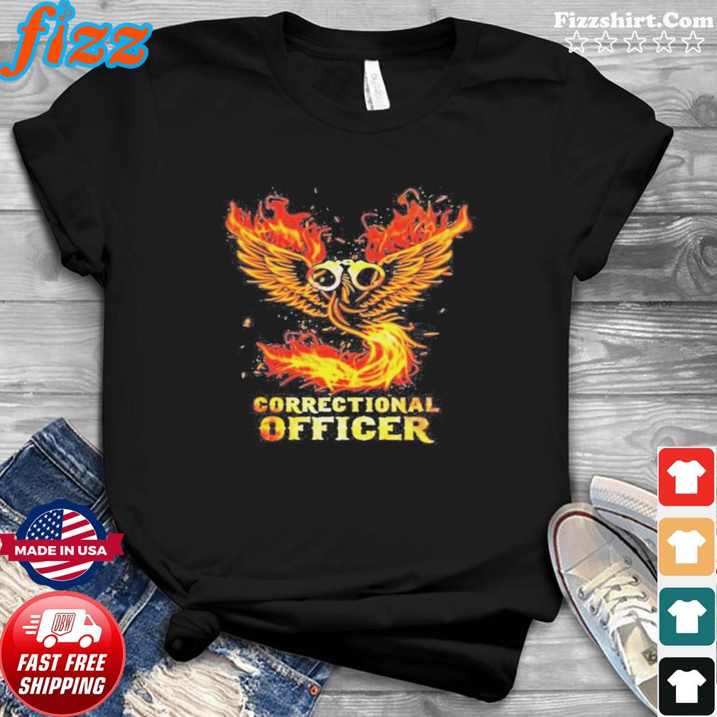 Wings fire correctional officer shirt