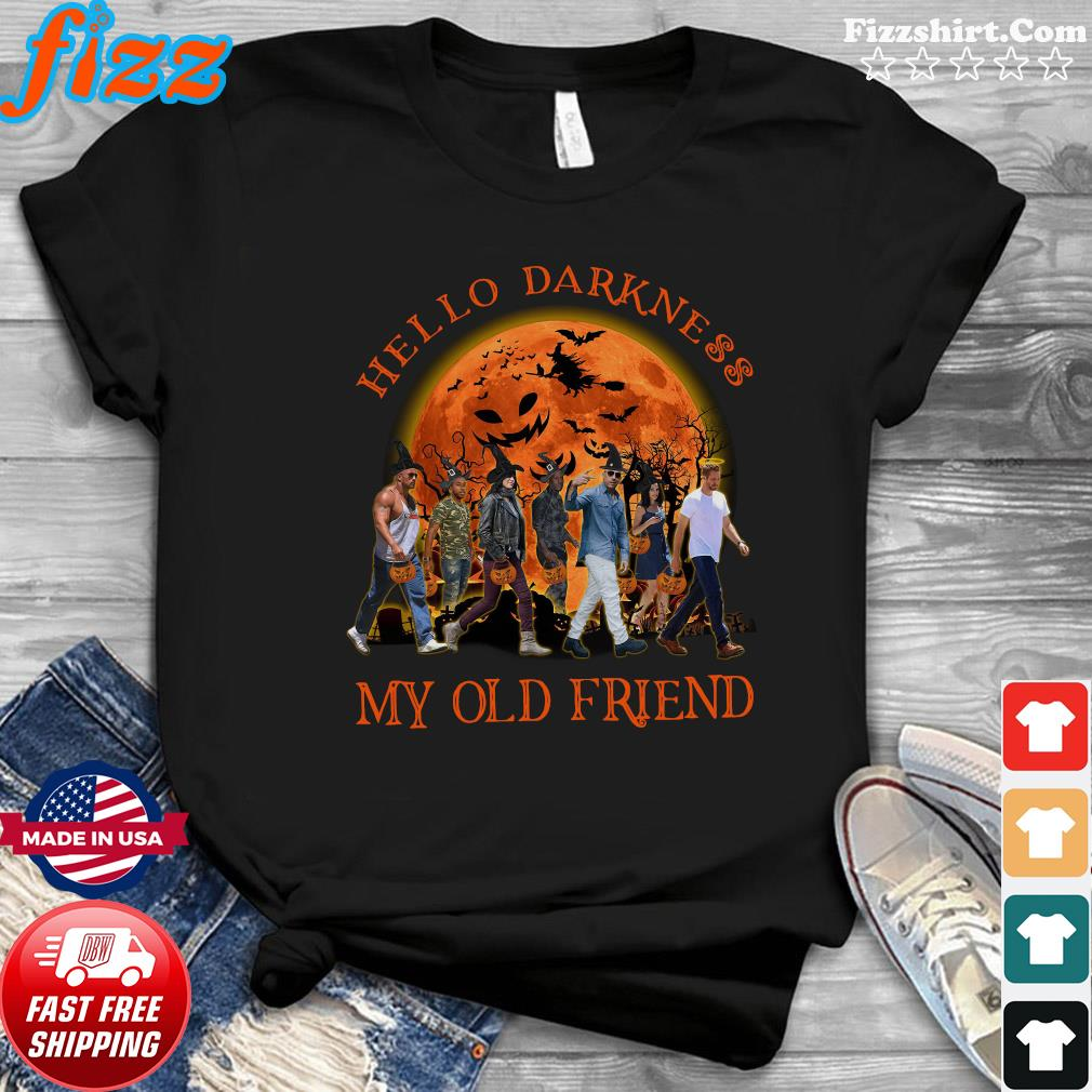 Fast And Furious Abbey Road Hello Darkness My Old Friend Halloween Shirt