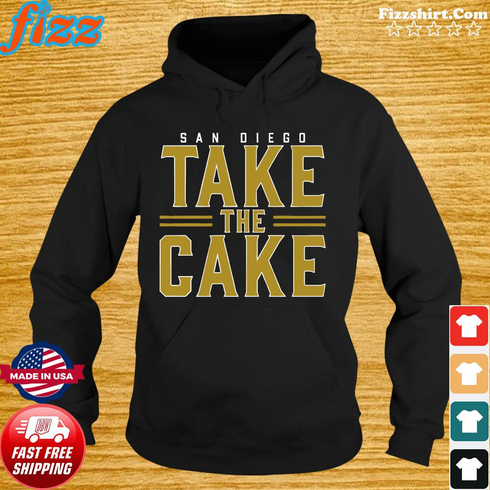 Official Sandiego Take The Cake Shirt Hoodie