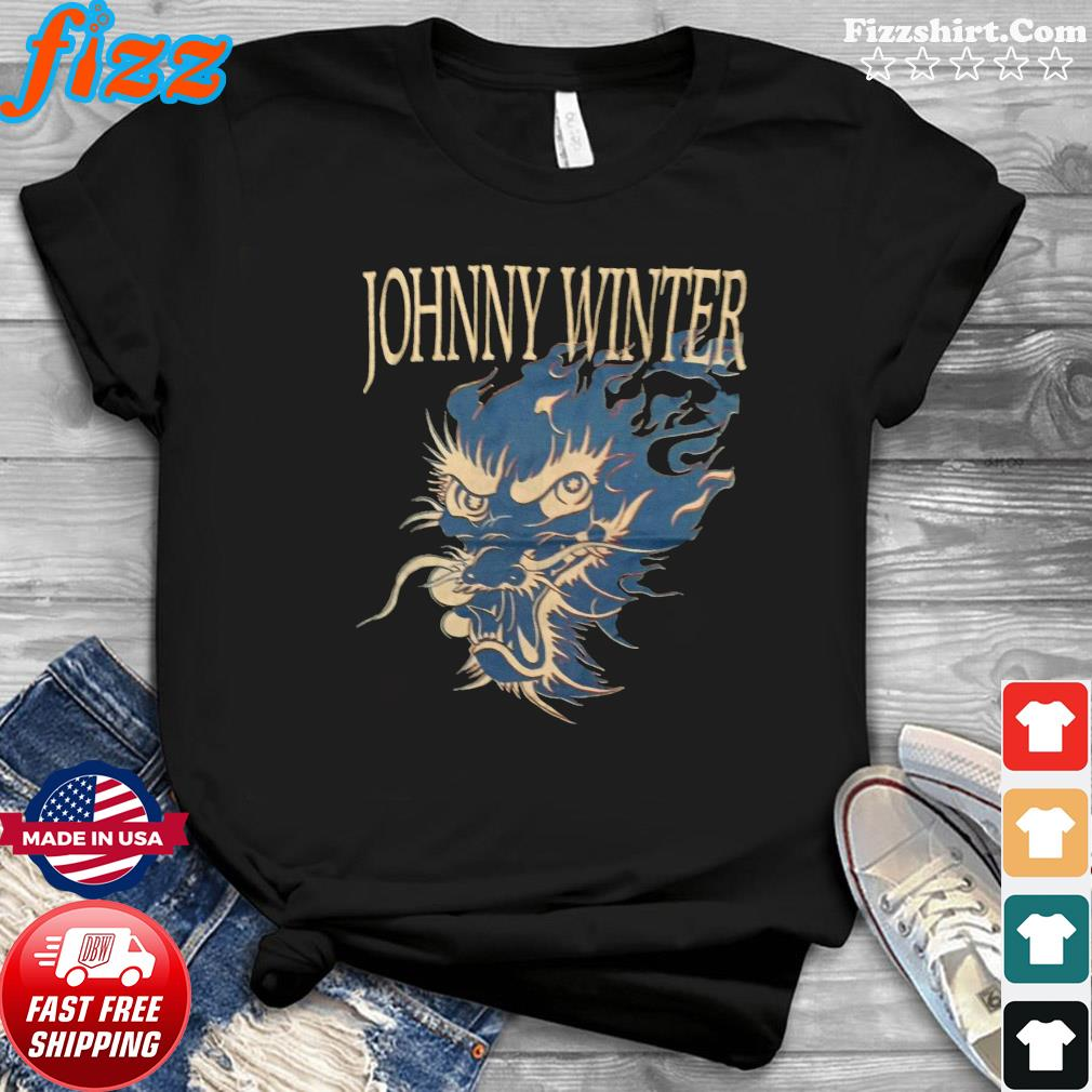 90s Johnny Winter vintage shirt