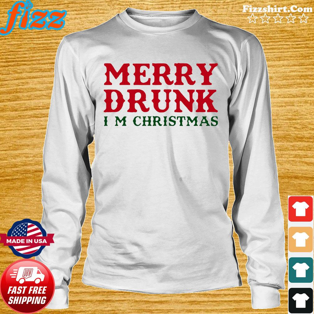 Merry Drunk I'm Christmas Sweats Long Sweater