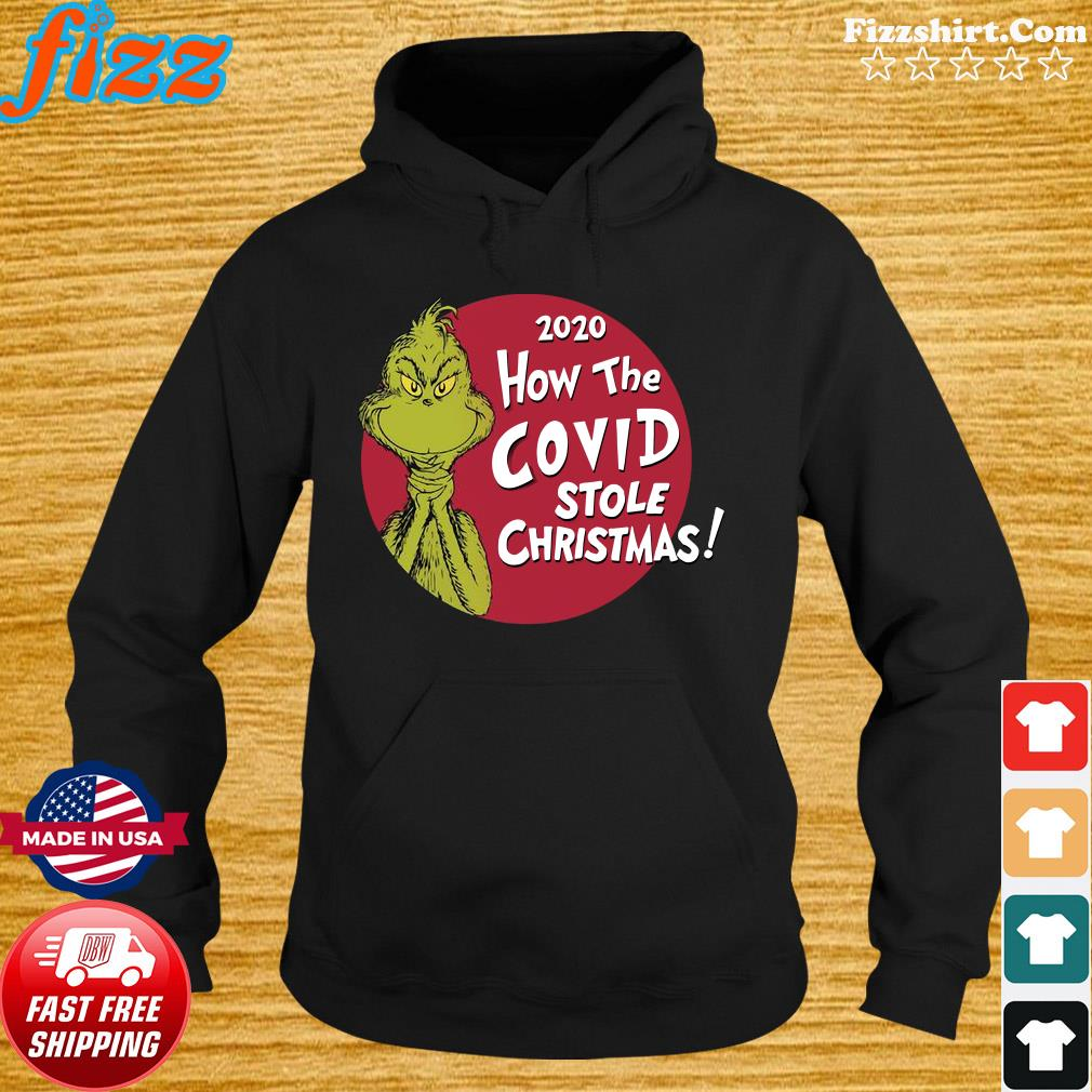 The Grinch 2020 How The Covid Stole Christmas Sweats Hoodie