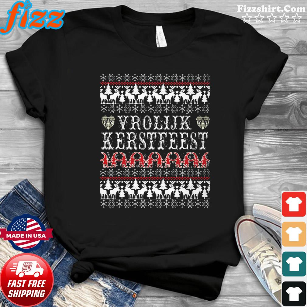 Vrolijk Kerstfeest Ugly Christmas Sweatshirt