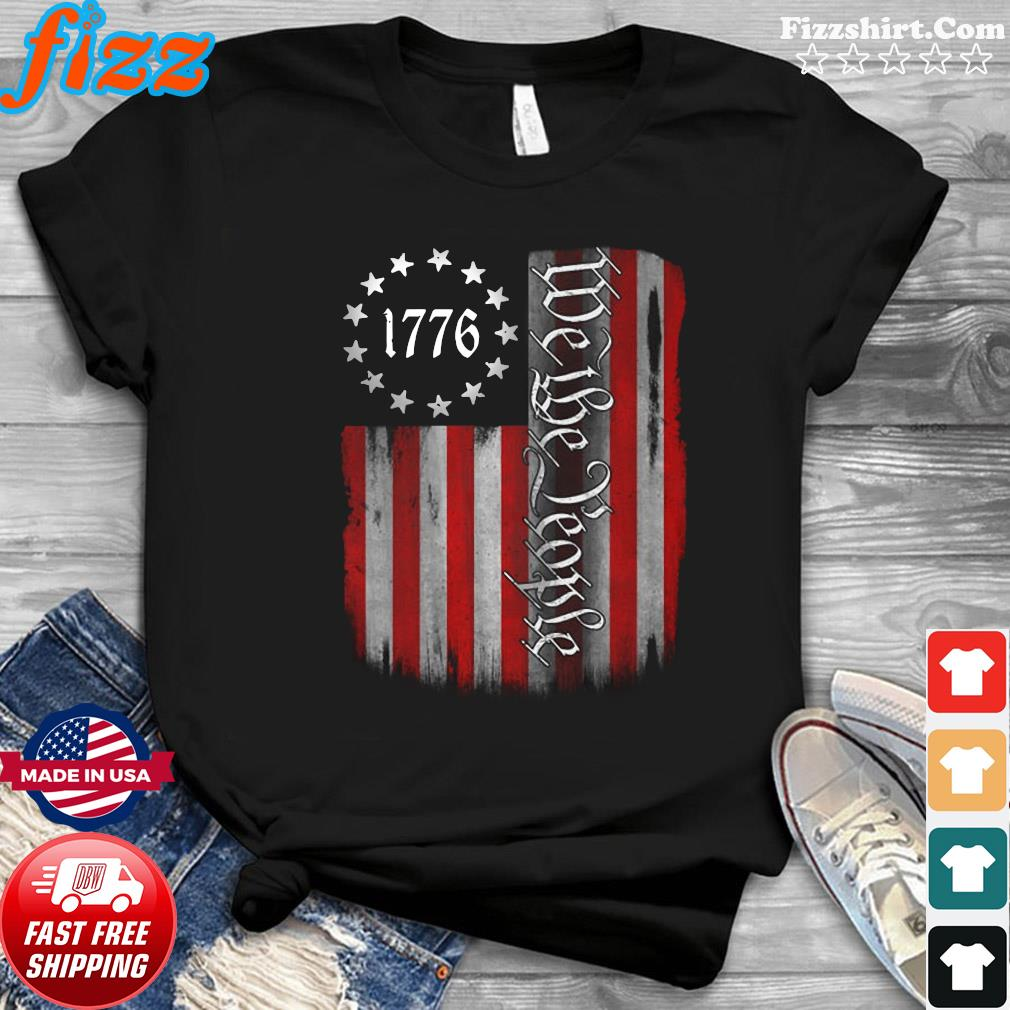 American Flag 1776 We The People Shirt