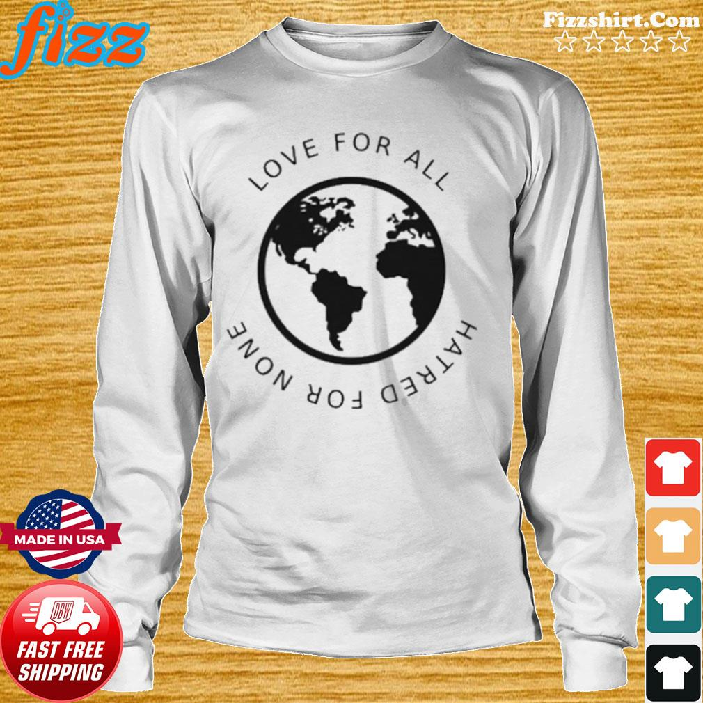 Love For All Hatred For None s Long Sweater