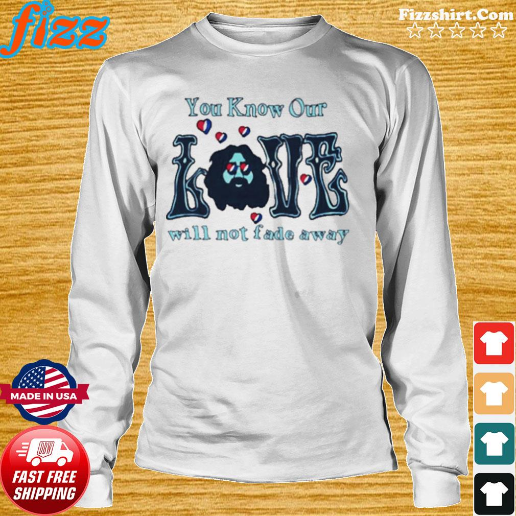 Love Grateful you know our love will not fade away s Long Sweater